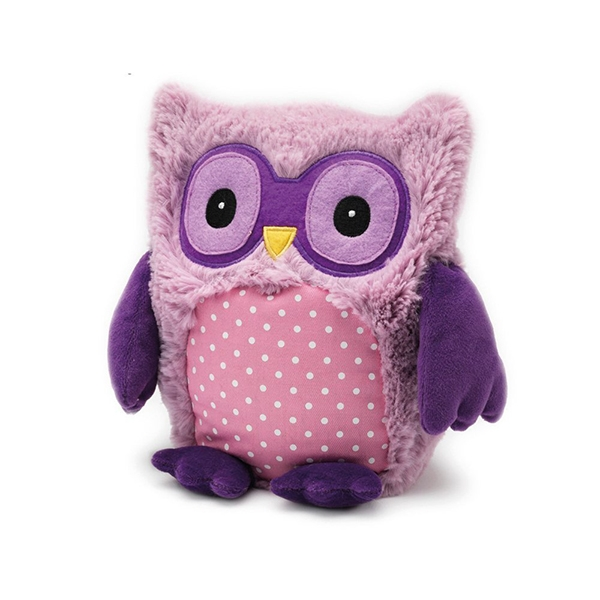 Microwavable Plush Owl Toy