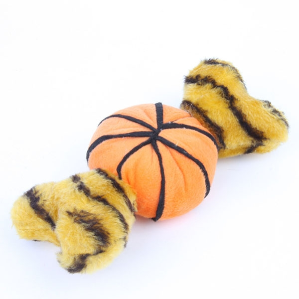 Dog toys Plush Pumpkin Bo...