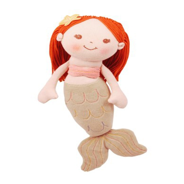 Mermaid Girl Rag Doll