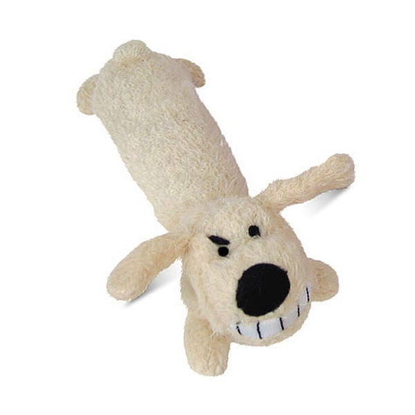 Plush Dog Toy with Squeaker