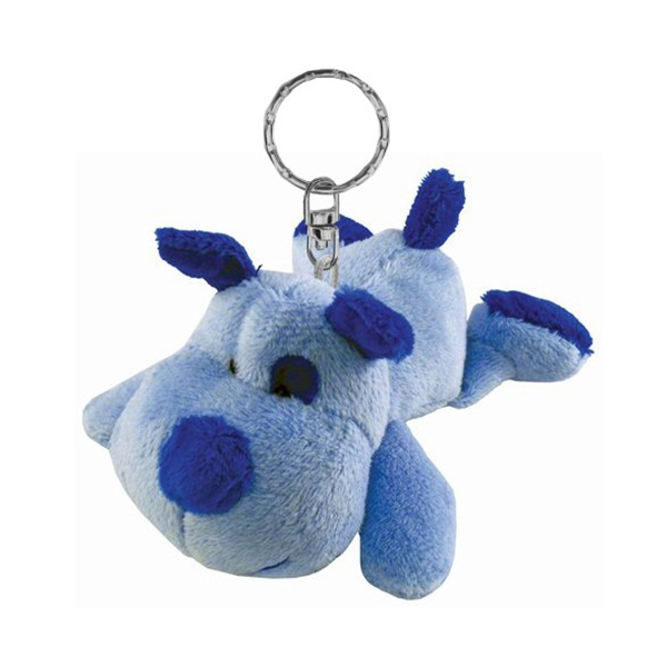 Dog Keychain Plush Key Ring