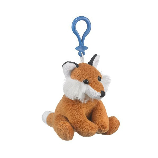 Fox Plush Toy Keychain