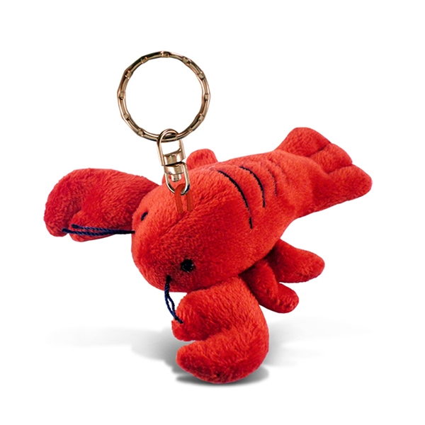 Lobster Plush Keychain
