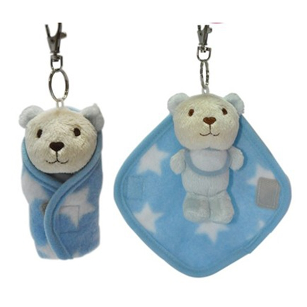 Bear Plush Keychain