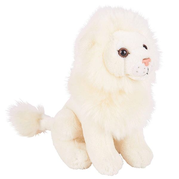 White Lion Plush Toy