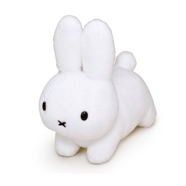 White Plush Toy Rabbit