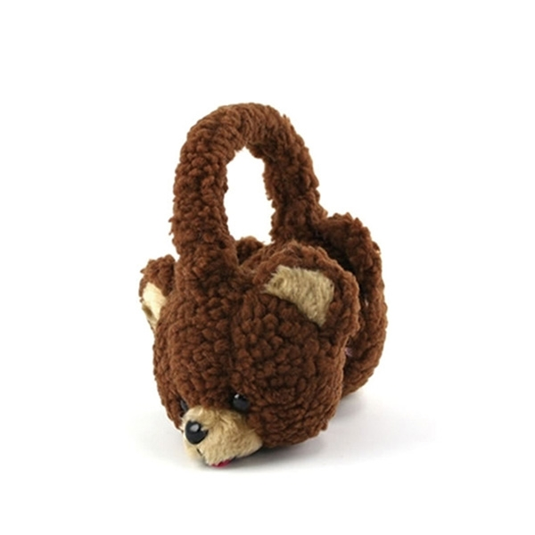 Brown Bear Plush Earmuff...