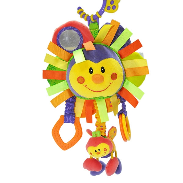 Pull String Musical Hanging Baby Toy
